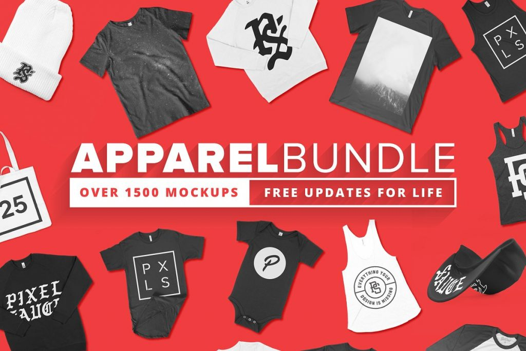 1500+ apparel mockups bundle - 1500 apparel mockups bundle 1024x683 - 1500+ apparel mockups bundle
