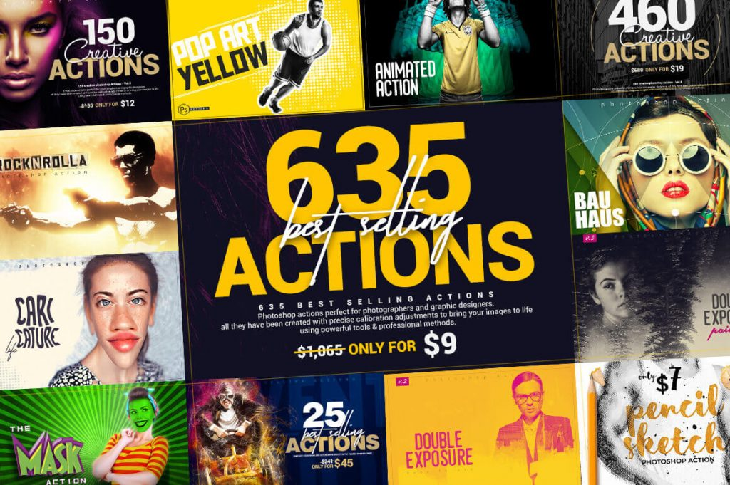 635 best-selling photoshop actions - 635 actions 1024x681 - 635 Best-Selling Photoshop Actions