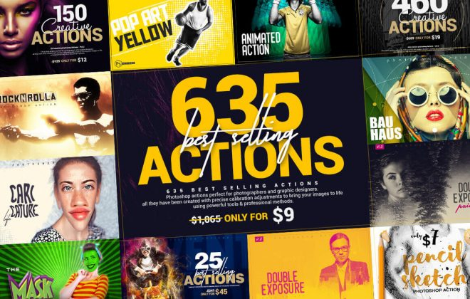 635 best-selling photoshop actions - 635 actions 660x420 - 635 Best-Selling Photoshop Actions