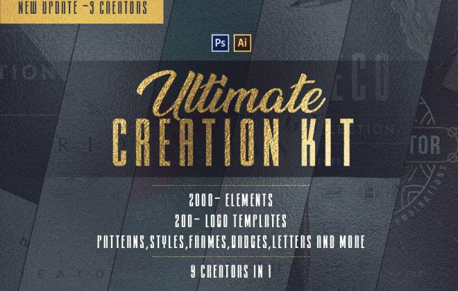 ultimate creation kit: 2,200+ design elements - 9in1 660x420 - Ultimate Creation Kit: 2,200+ Design Elements