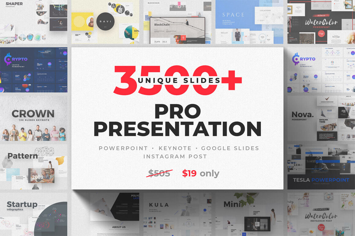 design deals - Pro Presentation - Awesome design bundle deals for designers!