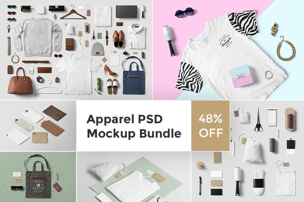 design deals - apparel bundle - Awesome design bundle deals for designers!