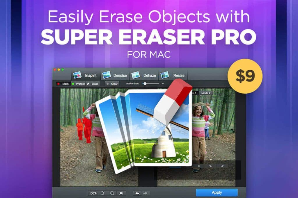 easily erase unwanted objects with super eraser pro - eraser 1024x681 - Easily Erase Unwanted Objects with Super Eraser Pro