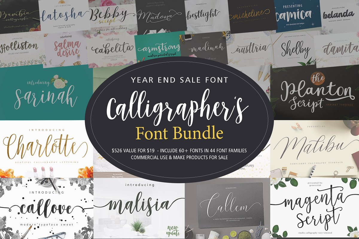 design deals - genesislab font bundle typography - Awesome design bundle deals for designers!